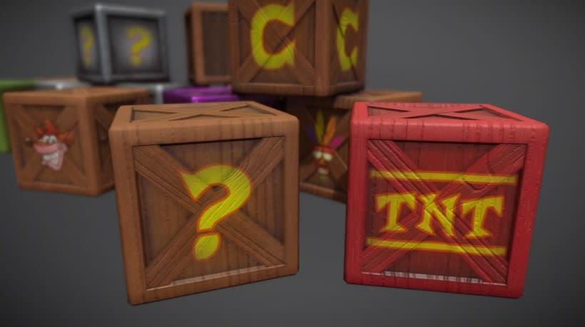 Crash Bandicoot Crates 3
