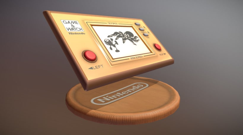 Game & Watch (3D Model) -1