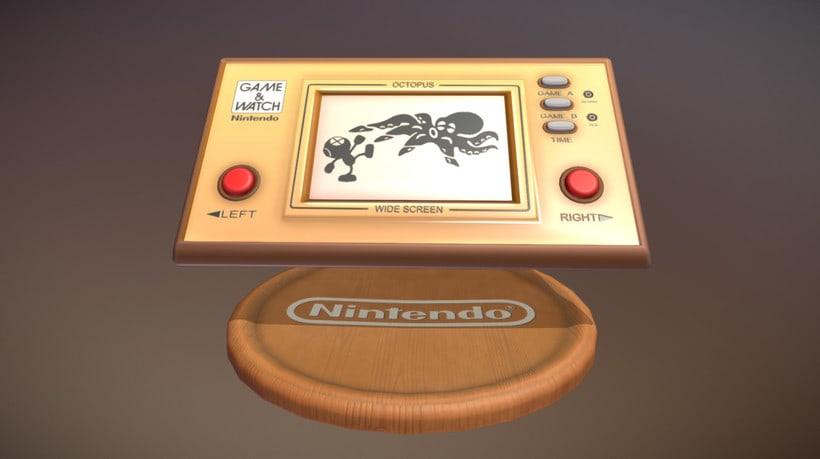 Game & Watch (3D Model) 0