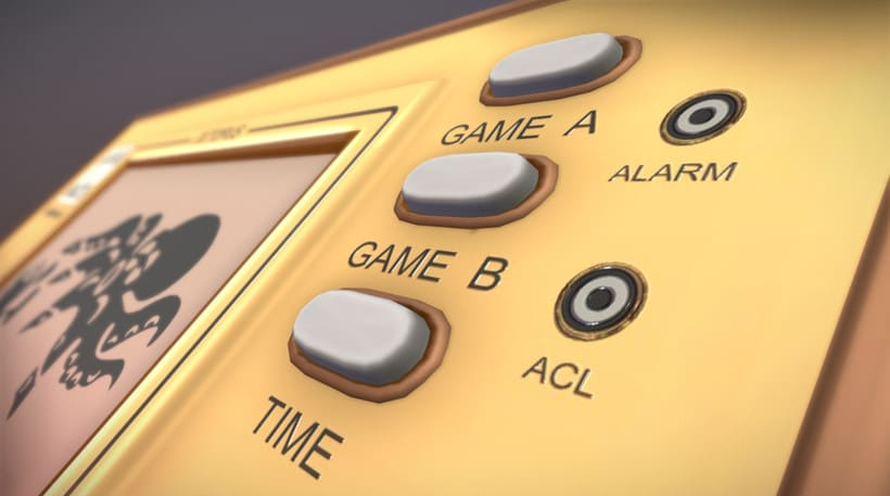 Game & Watch (3D Model) 1