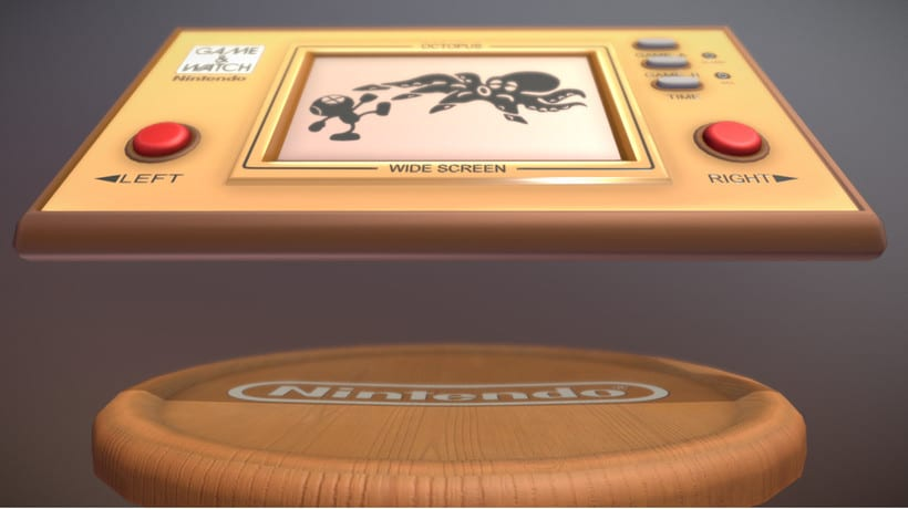 Game & Watch (3D Model) 2