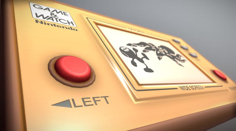 Game & Watch (3D Model) 3