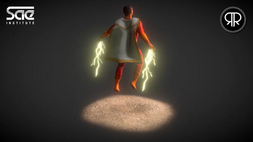 Shazam (3D Model) 3