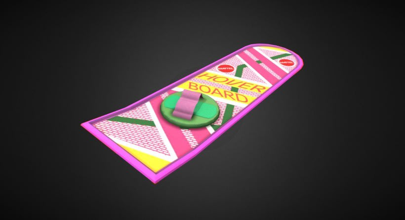 Back to the Future Hoverboard 2