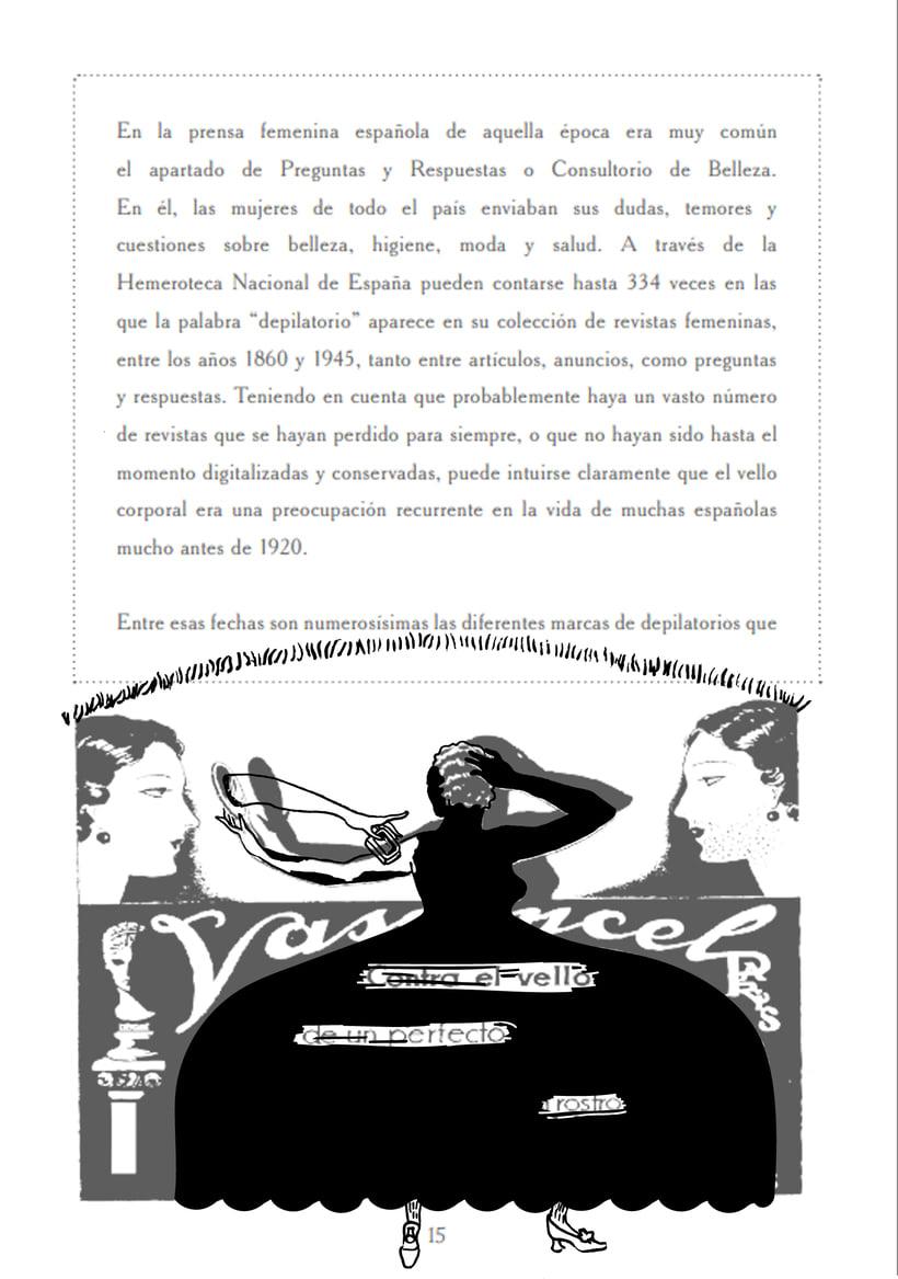 Ilustración e intervención irónica sobre anuncios de época 12