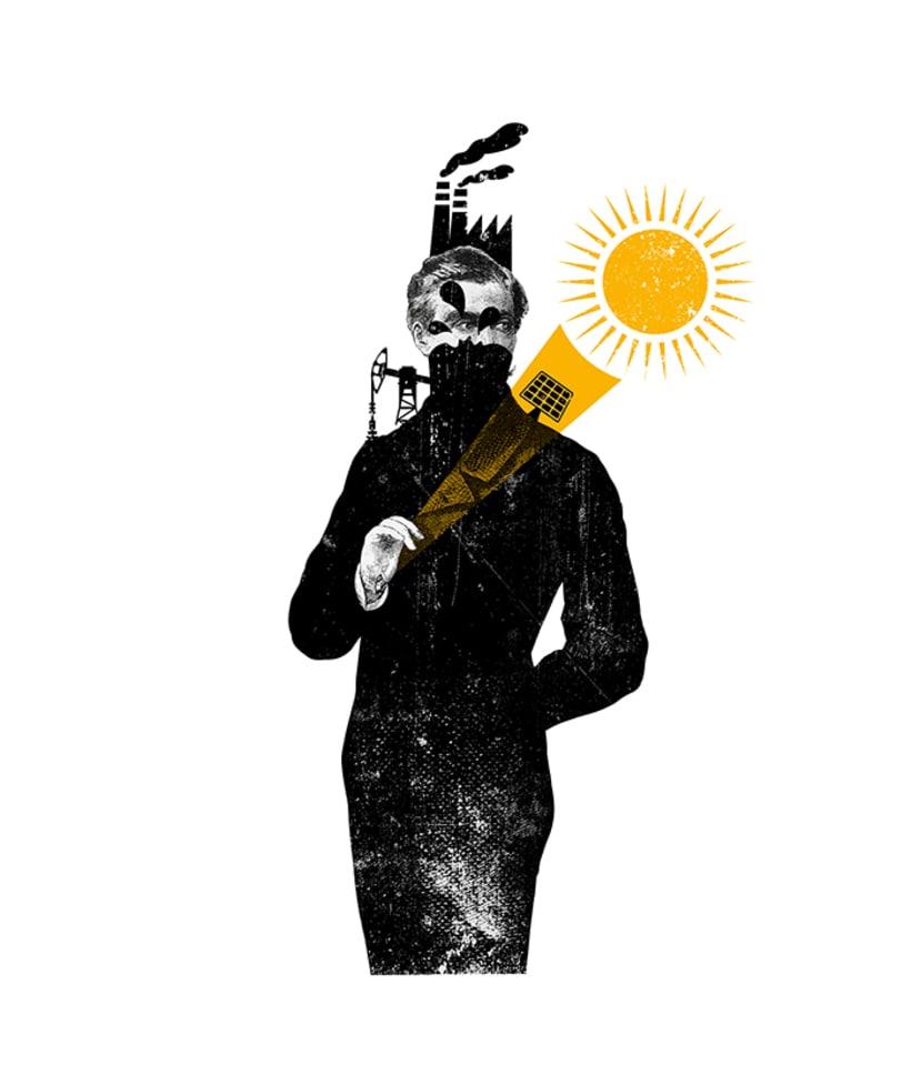 """Ilustración y diseño de portada para el Libro """"El camino hacia el sol"""" 0"""