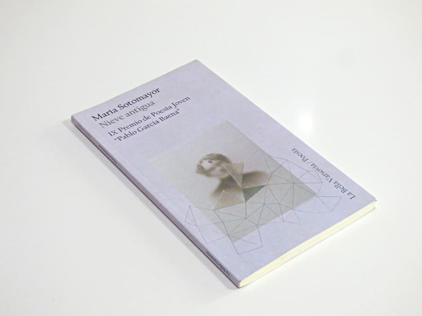 """Ilustración de portada para el Libro """"Nieve antigua"""" -1"""