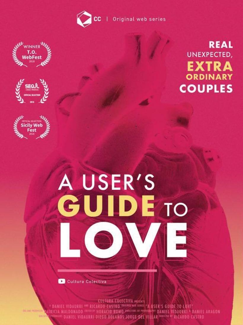 """Material de difusión para """"El Manual del Amor"""" web series 0"""