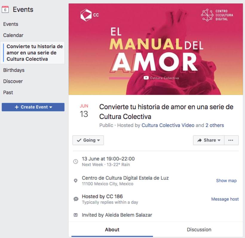 """Material de difusión para """"El Manual del Amor"""" web series 2"""