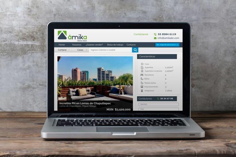 Sitio web Amika 0