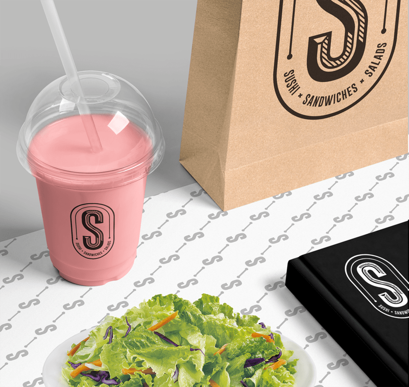 S: sushi • sandwiches • salads 3