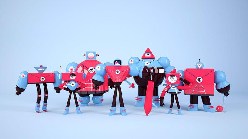 Space Rangers Personajes 3D 0