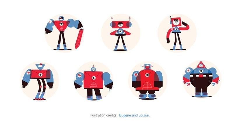 Space Rangers Personajes 3D 1