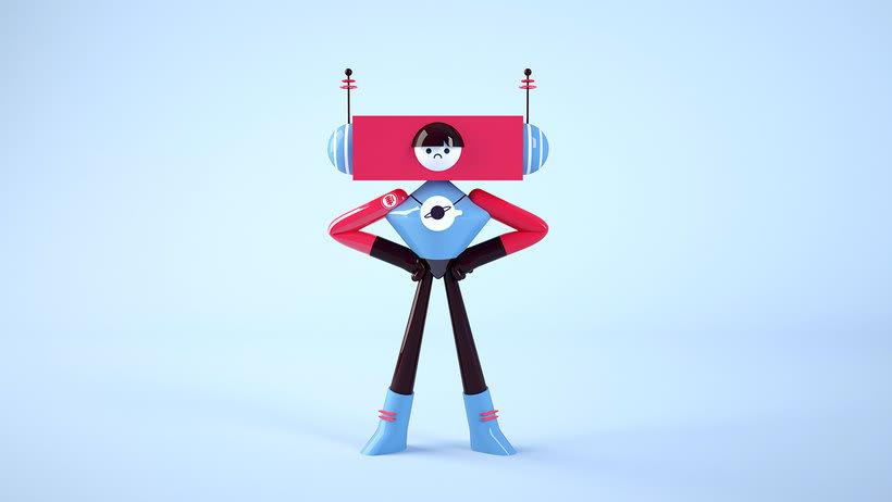 Space Rangers Personajes 3D 4