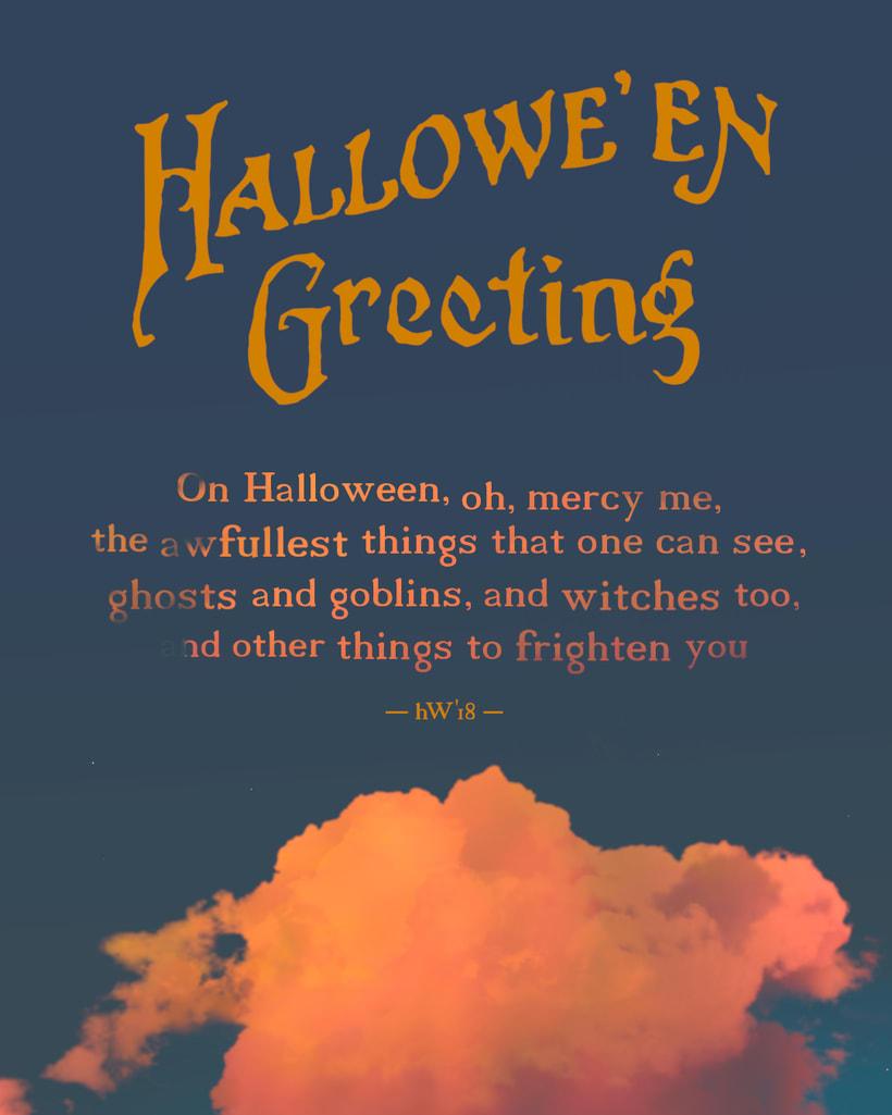 ·Hallowe`en Greeting· 6