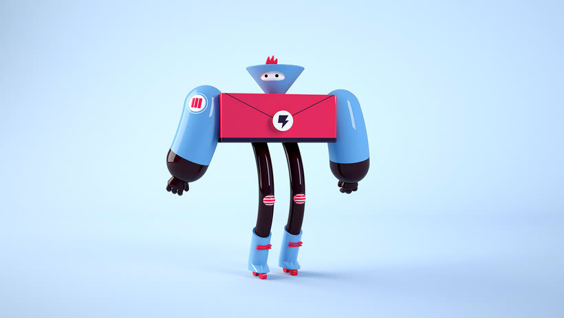 Space Rangers Personajes 3D 7