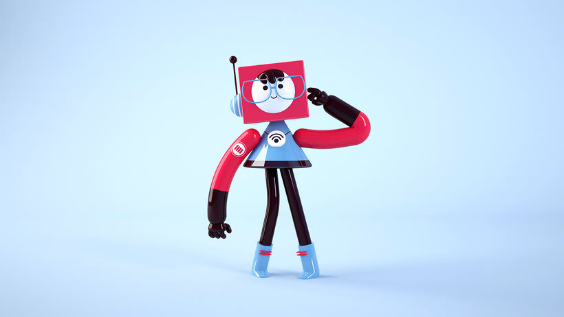 Space Rangers Personajes 3D 9
