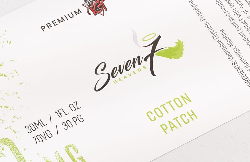 Diseño de Etiquetas - Liquidos Premium para cigarrillos 4