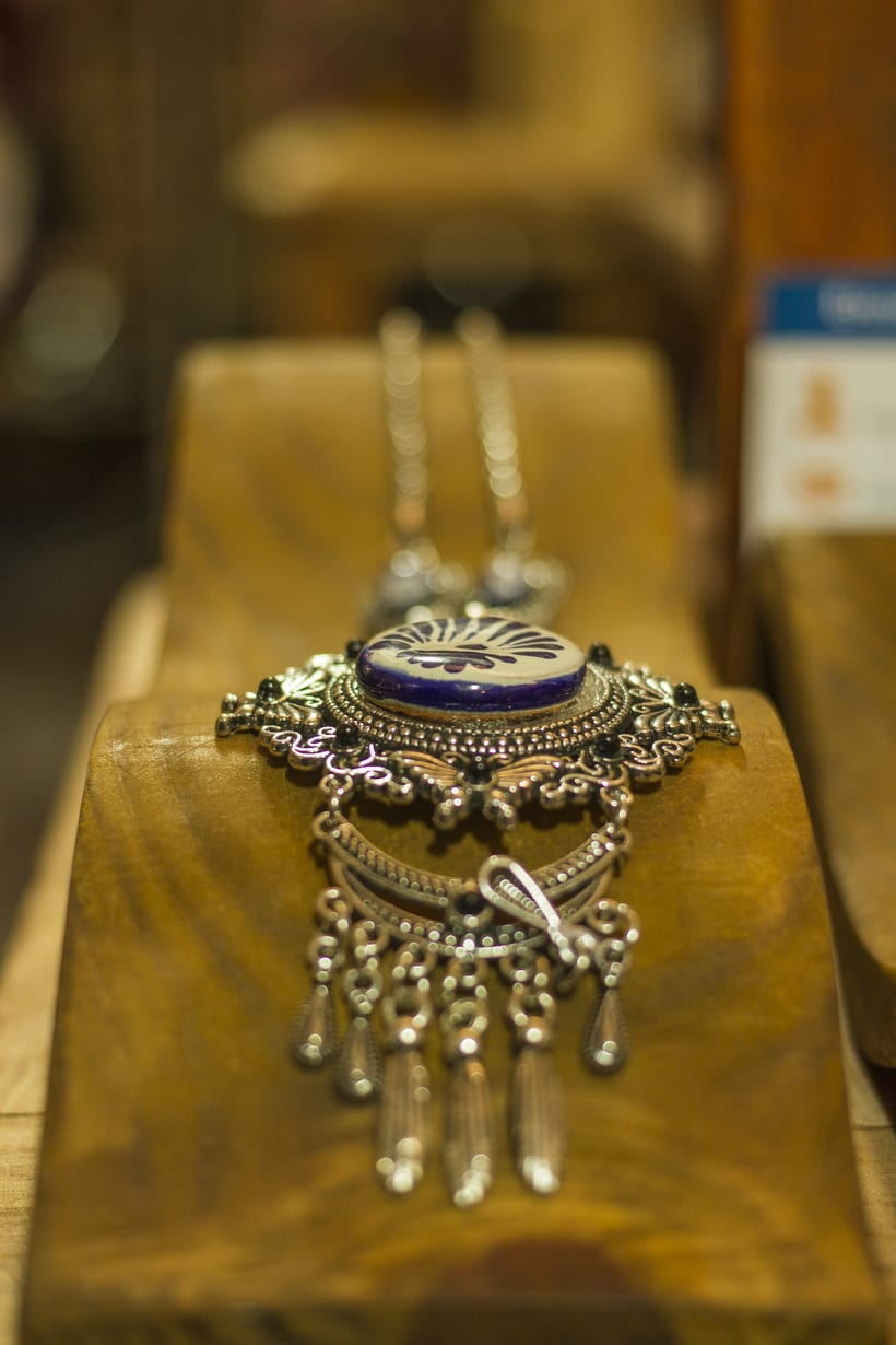 fotografia de stock para joyería artesanal en Talavera 1