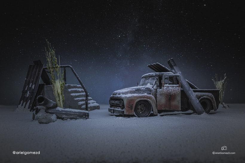 """""""Los restos del Hangar"""". Mi proyecto final de fotografía creativa a escala 0"""