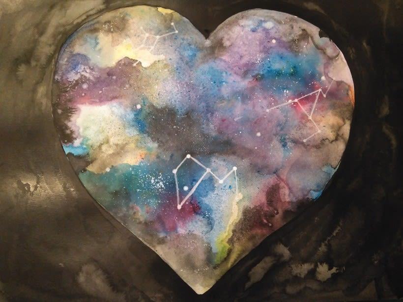 Corazón estrellado 1