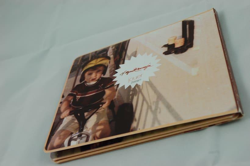 "Diseño de producto packaging cd ""jouer"" 1"
