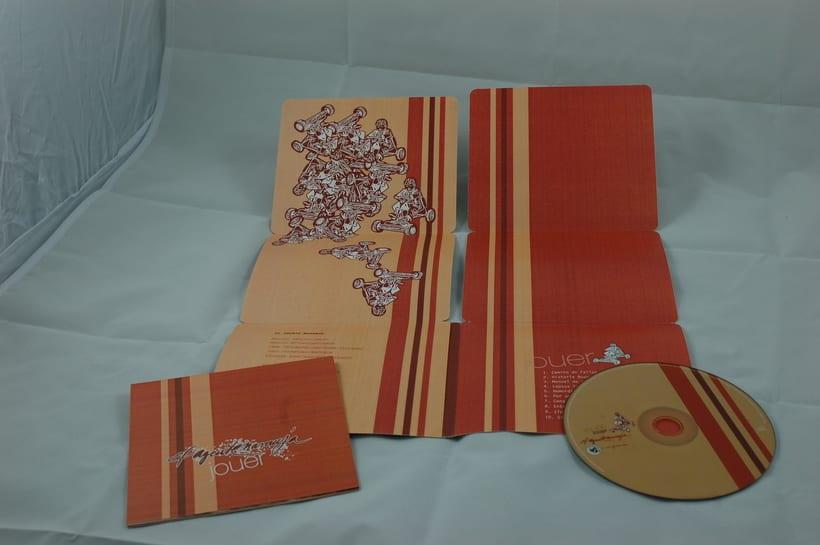 "Diseño de producto packaging cd ""jouer"" 2"