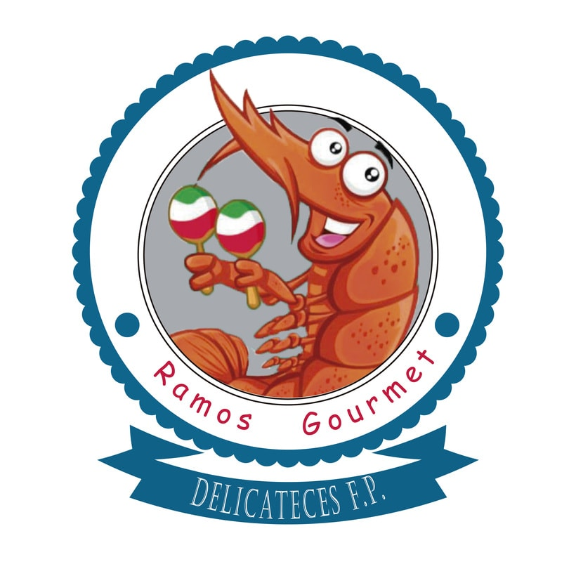 Diseño de logo Ramos Gourmet 0