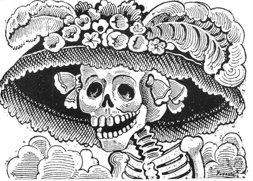 Cuál Es El Origen De La Catrina Mexicana Domestika