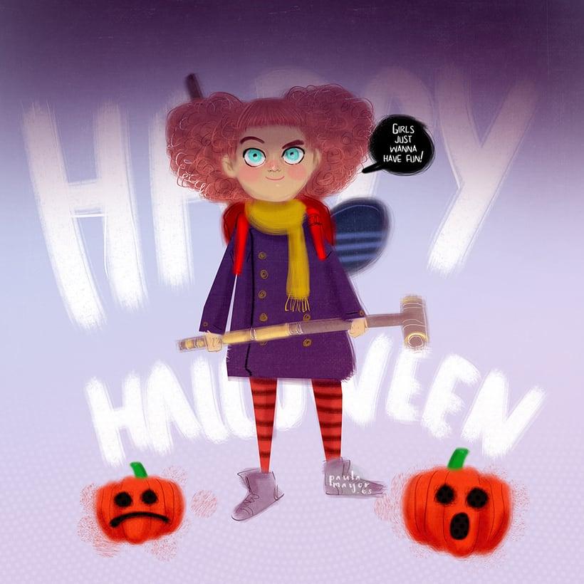 Halloween. Girls just wanna have fun! -1