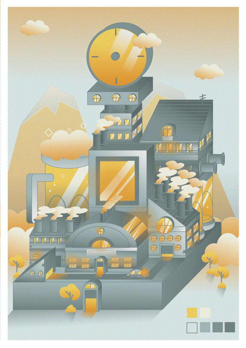 Mi Proyecto del curso: Ilustración corporativa: Guía de Estilo vectorial 1