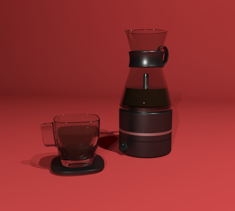 Kahvi, cofee maker -Product design 0