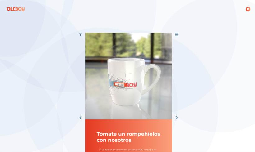 Website de OLDBOY Creative Development 4