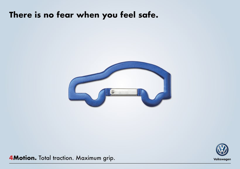 "Volkswagen Ad ""4Motion Technology"" -1"