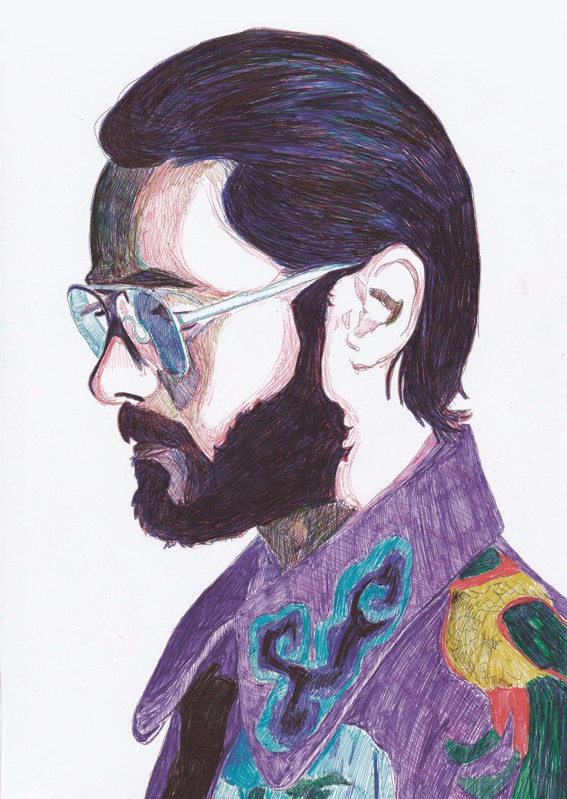 Mi Proyecto del curso: Ilustración realista con bolígrafos de colores -1
