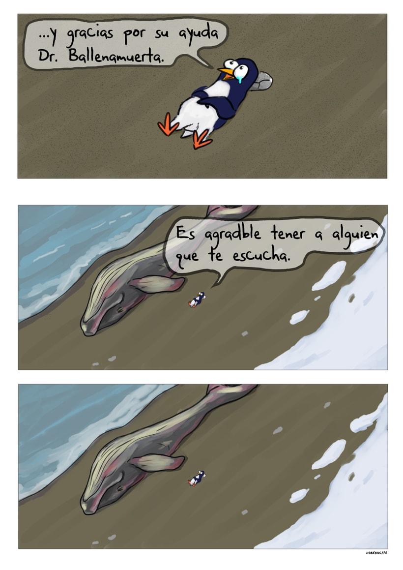 El Club de los Pingüinos Pesimistas -  Dr. ballenamuerta (webcomic) 0