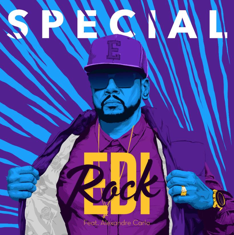 Capa do single do Edi Rock - SPECIAL (RACIONAIS) 0