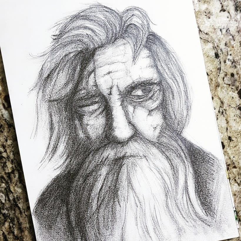 Meu projeto do curso: Retrato realista con lápiz de grafito 0