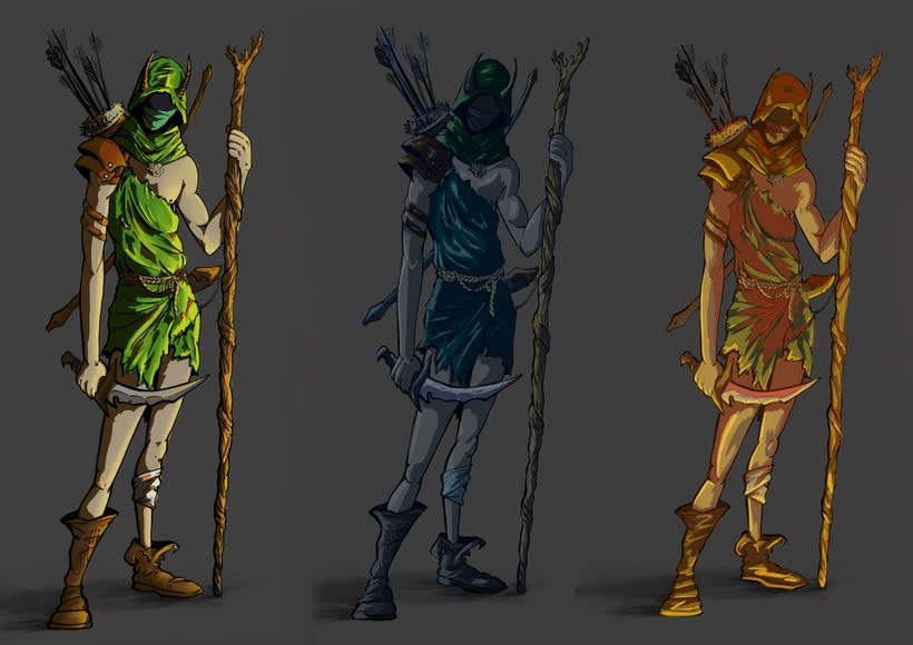 Character Design - Druid -1