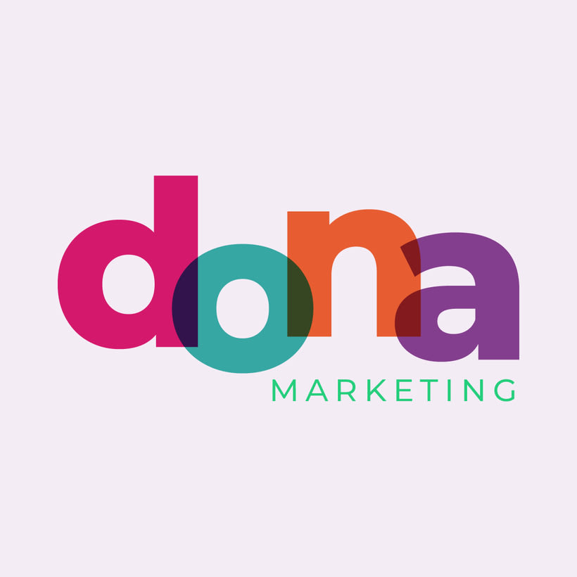 Logotipo y Web para Dona Marketing 0