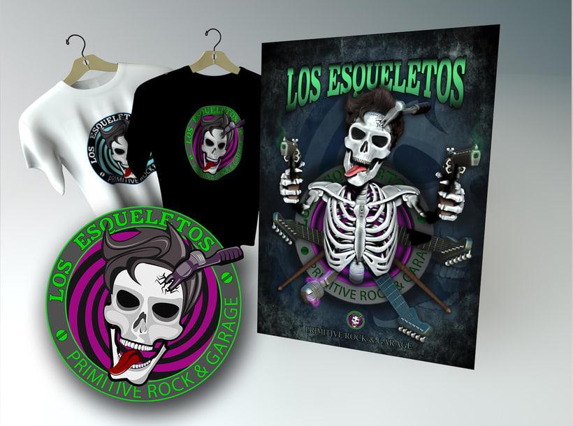 Los Esqueletos -1