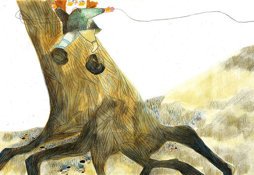El tendedero( álbum ilustrado - sin publicar) -1