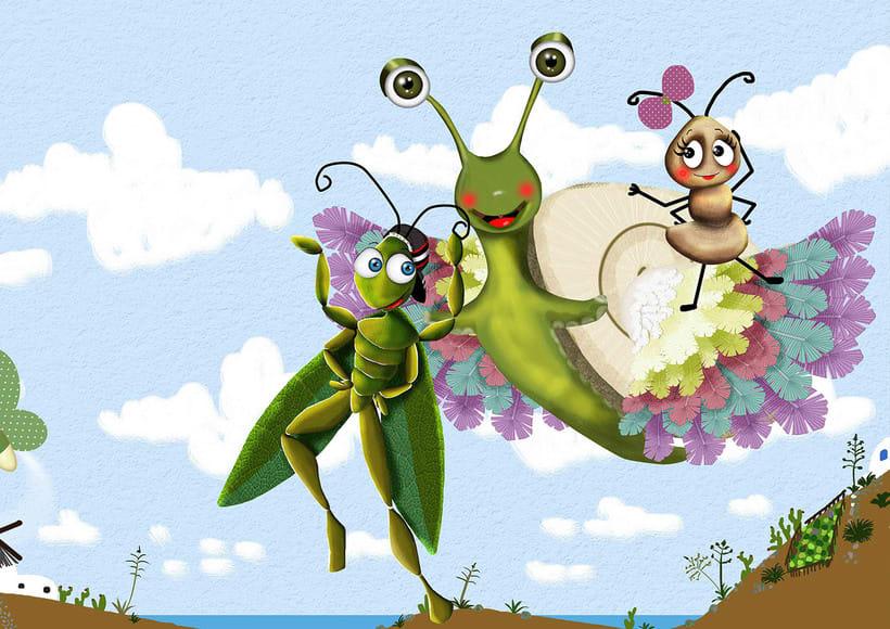 Totobol, el caracol volador 4