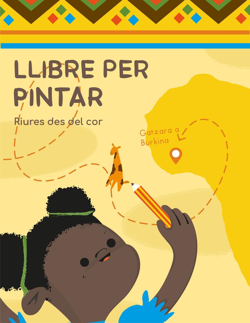 Libro infantil para colorear 0