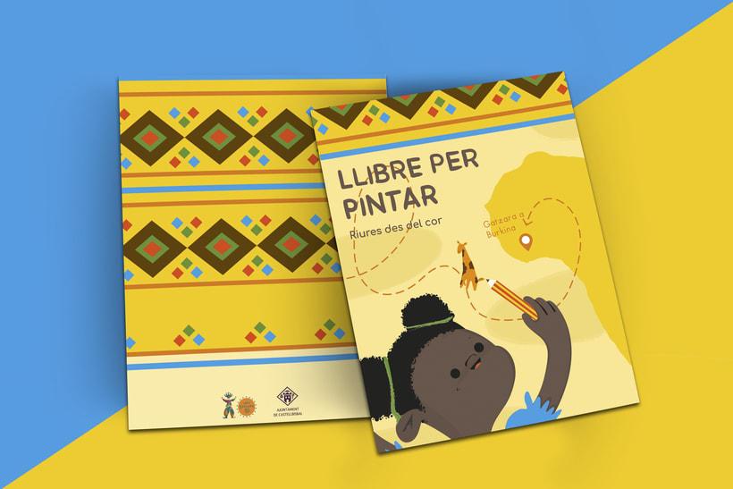 Libro infantil para colorear 2