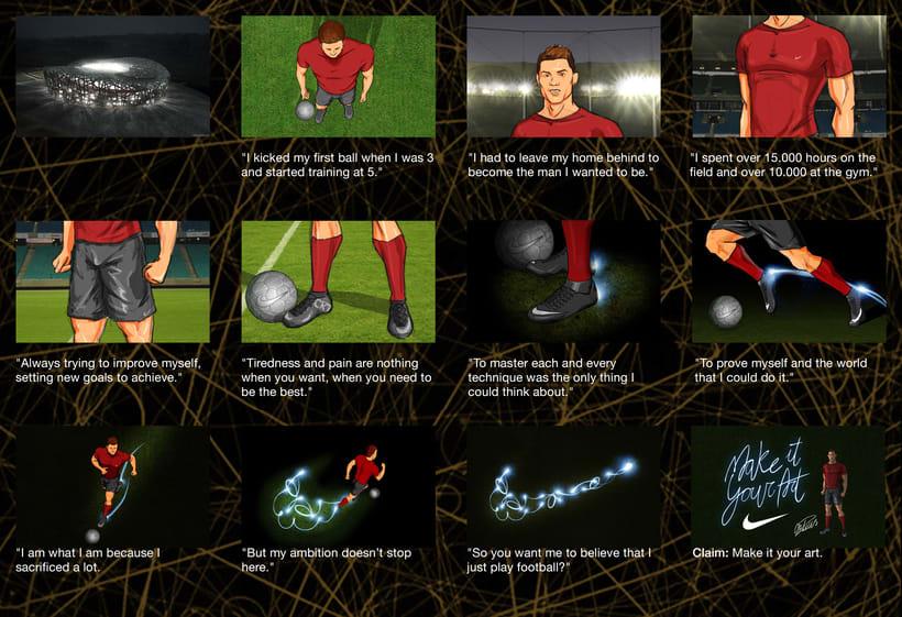 Nike · Make it your Art (Concept Idea) 3