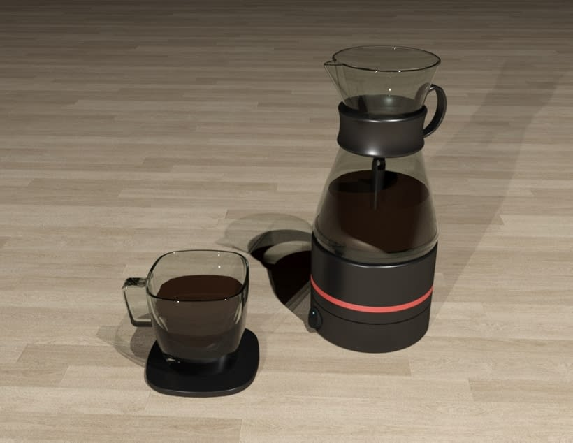 Kahvi, cofee maker -Product design 2
