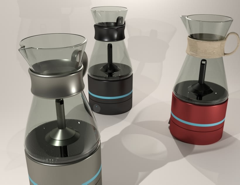 Kahvi, cofee maker -Product design 3