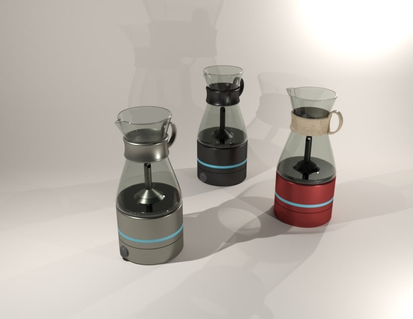 Kahvi, cofee maker -Product design 4