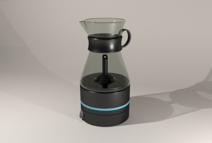Kahvi, cofee maker -Product design 5
